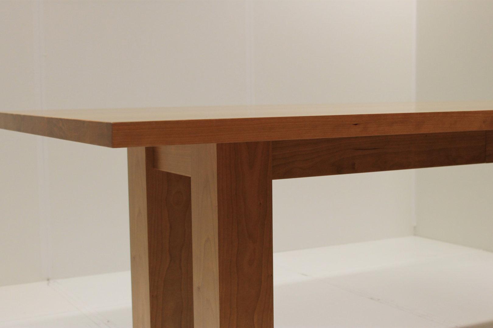 Wag 3 esstisch amerikanische kirsche furniert lackiert l b h 220 100 74 cm mobilia collection - Esstisch kirsche ...