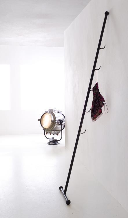 garderobenst nder stick schwarz mobilia collection. Black Bedroom Furniture Sets. Home Design Ideas